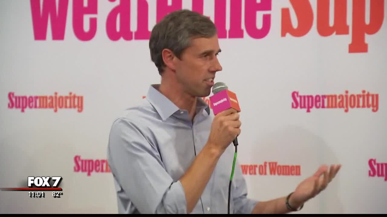 O'Rourke discusses immigration, gun control in Downtown Austin